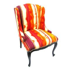 Midge Petite Wing Chair, $920, now featured on Fab....now THIS is a throne!!