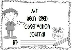 """My Bean Seed Observation Journal"""