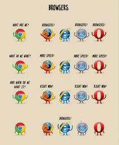 Browsers #fun #geek