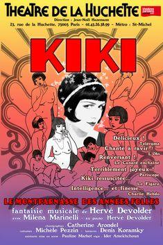 Kiki de Montparnasse au Théâtre de la Huchette