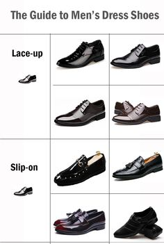 The guide to men's dress shoes
