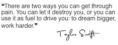 Taylor Swift quote.