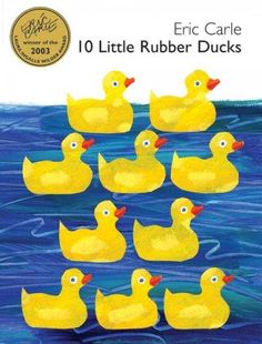 Ahoy! Here We Go Around the World with 10 Little Rubber Ducks Ducks overboard! shouts the captain, as a giant wave washes a box of 10 little rubber ducks off his cargo ship and into the sea. The 10 li