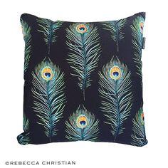 Peacock Pillow - Peacock Art Cushion - Home Decor - Peacock Feather - Feather Decor - Feather Pillow - Peacock Cushion - Peacock Pillow by RebeccaChristianShop on Etsy https://www.etsy.com/uk/listing/483239756/peacock-pillow-peacock-art-cushion-home