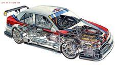 1995 Alfa Romeo 155 T-I DTM race racing interior engine Alfa Romeo 155, Alfa Romeo Logo, Alfa Romeo Cars, Cutaway, Rally Car, Car Car, Leon On, Alfa Alfa, Best Muscle Cars