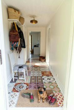 Patchwork floor