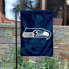 Seattle Seahawks Yard Flag is 10.5x15 inches in size and displays Seattle Seahawk logos. These Seattle Seahawks Yard Flags are made of nylon, have...