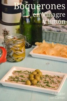 Boquerones en Vinagre y Limón