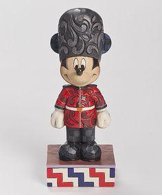 Loving this Disney Mickey England Figurine on #zulily! #zulilyfinds