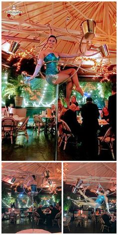New apparatus for aerial champagne serving! A gorgeous girl can serve you a drink from the air without having to rig from the ceiling! lollipop lyra, Houston aerialists, Hotel Zaza, J&D Entertainment company www.jdentertain.com