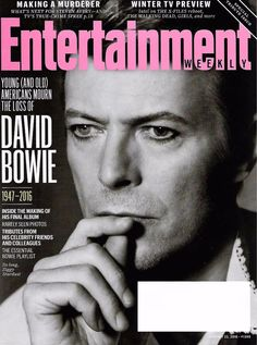 Entertainment WEEKLY Magazine January 22, 2016 - DAVID BOWIE TRIBUTE ISSUE