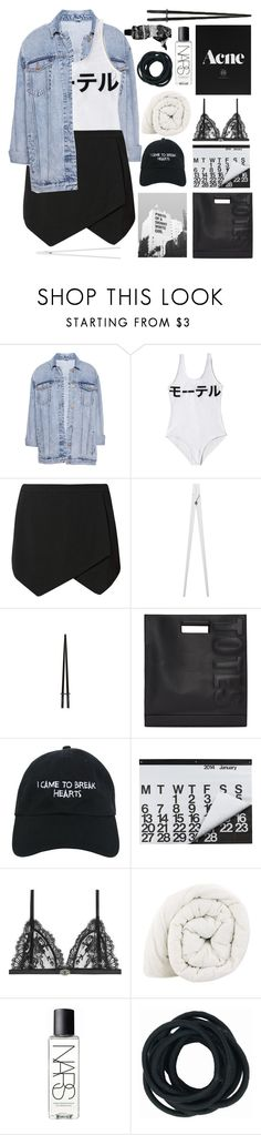 """MY DREADS TOO THICK, AND THAT'S ALRIGHT"" by breniixii ❤ liked on Polyvore featuring Pull&Bear, Motel, CB2, 3.1 Phillip Lim, Nasaseasons, Crate and Barrel, Alexander McQueen, NARS Cosmetics, Aesop and sabadxsamira"
