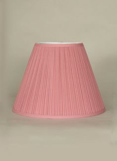 Dusty Rose Mushroom Pleat Empire Shade Size Options Available Www Mylrg