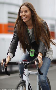Prefer two wheels? Jessica Michibata rides a bicycle alongside ...