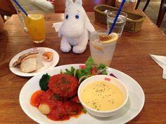 Moomin Cafe at Tokyo Dome