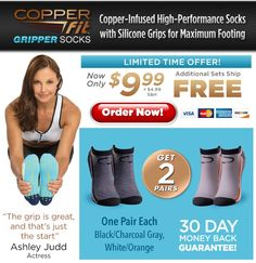 Copper Fit™ Gripper Socks Offer