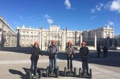 Madrid Sightseeing Segway Tour Take a trip through Madrid history on a futuristic Segway personal transporter. The 2-hour sightseeing tour will take you to see the city's attractions, from the Almudena Cathedral to the Palacio Real, and to the Manzanares River and the Templo de Debod.Climb aboard a futuristic self-balancing Segway and head out on a 2-hour tour that will take you through the history of Madrid, Spain's capital since 1561. Experience an eco-friendly journey from ...