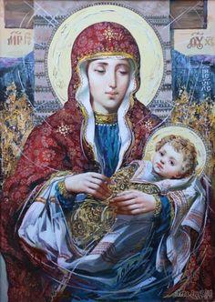Мадонна з немовлям / О. Охапкін