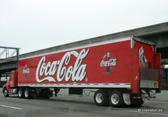 Coca-Cola Bottling Company of California truck in South San Francisco