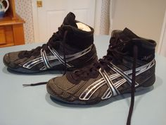 Asics Dan Gable Ultimate Ultraflex Men's Wrestling Shoes Size 11 #Asics #Wrestling