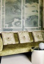 Velvet fabric for upholstery
