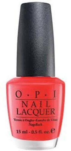 OPI NAIL POLISH L64 CAJUN SHRIMP .5 OZ L64