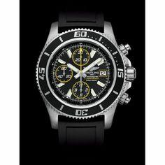 http://www.horloger-paris.com/fr/2771-breitling   Breitling Superocean Chronographe Acier La montre pour hommeBreitling Superocean Chronographeest un magnifique modèle  automatique, d'une très grande fiabiliteacut...