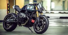 From an obscure metalworking shop in Taiwan comes one of the most amazing modified BMW R nine Ts we've ever seen.