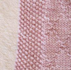 Randmaschen für alle Zwecke – Tichiro – knits and cats Knitting Charts, Baby Knitting Patterns, Knitting Stitches, Knit Or Crochet, Crochet Hats, Crochet Dresses, Edge Stitch, Knitted Blankets, Tricot
