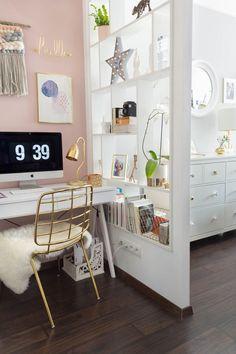 Woodworking, Interior Design, Pink, Furniture, Home Decor, Nest Design, Decoration Home, Home Interior Design, Room Decor