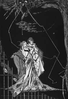 Illustration by Harry Clarke of Goethe's Faust