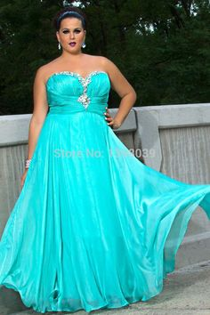 Aliexpress.com : Buy Fashion Lady's First Choice Plus Size Prom Dresses with Crystals Long Girls Party Dress Chiffon Gowns from Reliable Prom Dresses suppliers on Silence Angle