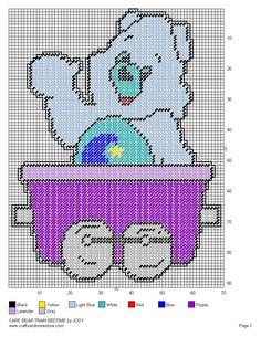 Care Bear Train Set 57