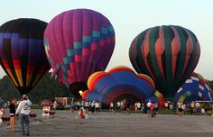 The next New Smyrna Hot Air Balloon Festival will be in April 2013. You'll want to make your reservations early for Moontide - but check the height restrictions for the undercover parking to make sure your balloon and trailer will tuck in nicely. http://www.TheMoontide.com
