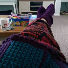Two blankets and woolly socks! #whathappenedtosummer? #ineedsunshine