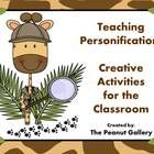 Make personification COME ALIVE with these activities to enhance your figurative language unit.