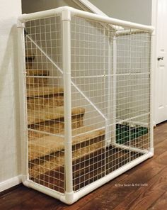 pvc standalone gate - Doggie Gates