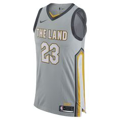 LeBron James City Edition Authentic Jersey (Cleveland Cavaliers) Men s Nike  NBA Connected Jersey Size ed49524ad