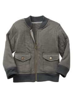 Quilted bomber jacket Product Image