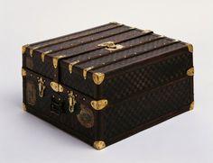 Schmuckstück: Diesen Koffer von 1890 bezeichnen die Archivare von Louis Vuitton...