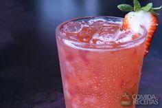 Receita de Coquetel de morango