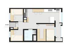 [상월곡 인테리어] 동아에코빌 25평 아파트 인테리어_이사전 by 홍예디자인 : 네이버 블로그 Smart Home, Floor Plans, House, Smart House, Floor Plan Drawing, House Floor Plans