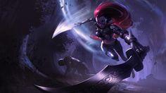 League of Legends Red Hair Girl Blade Sword Katarina High Definition Wallpaper1920x1080