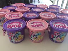 My Little Pony party buckets - to order email jackie@babazoo.co.za
