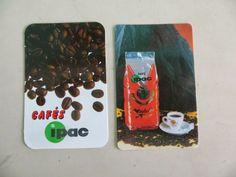 Sonho Antigo: Calendário de marca de café Ipac