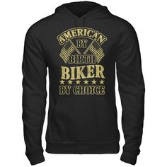 Biker By Choice Are You An American Biker?  Then This Shirt Is Perfect For You!    ACT FAST and click the green button before they're all gone!  Sizes S-6X available!