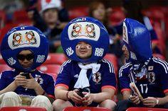 不倒翁的日本球迷,希望日本不要再輸了啊!