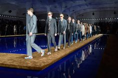 Rem Koolhaas' Prada 2014 catwalk