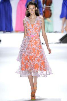 Nanette Lepore Spring 2012 RTW Lace Overlay Dress - Celebrities ...