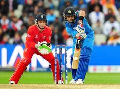 India's Virat Kohli during the ICC Champions Trophy Final at Edgbaston, Birmingham.